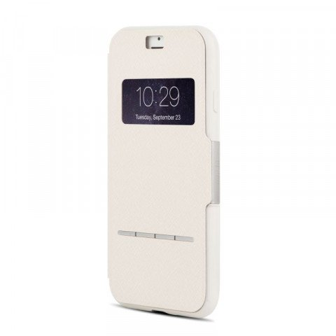 Moshi SenseCover iPhone 8 / 7 Plus Stone White
