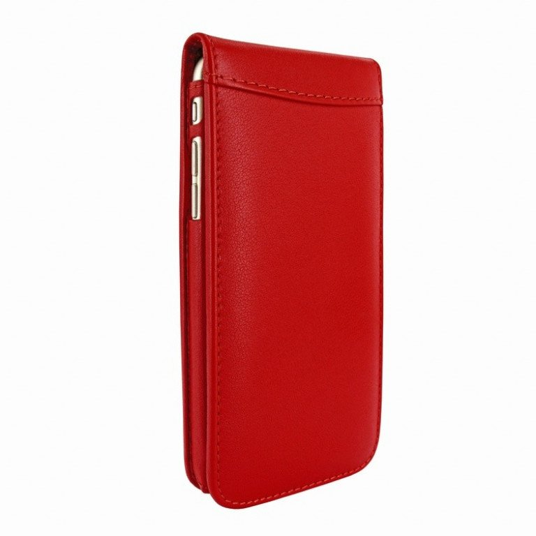 Piel Frama iPhone 7 Classic Magnetic Red
