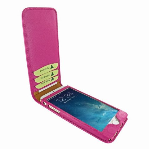 Piel Frama iPhone 8 / 7 Classic Magnetic Pink