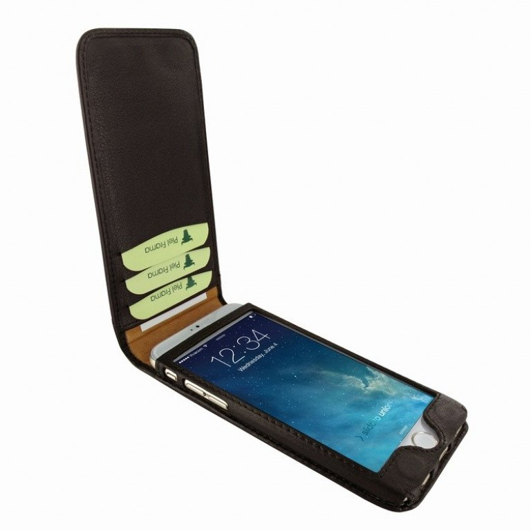 Piel Frama iPhone 7 Classic Magnetic Brown