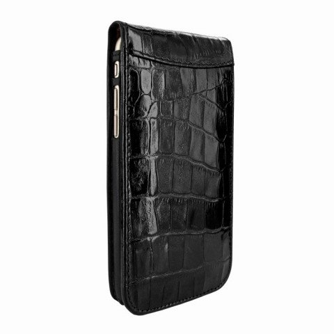 Piel Frama iPhone 8 / 7 Classic Magnetic Croco Black