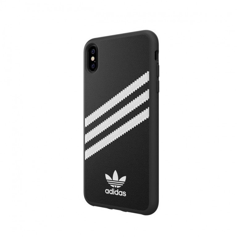 Adidas OR Moulded Case iPhone Xs Max Striped Black