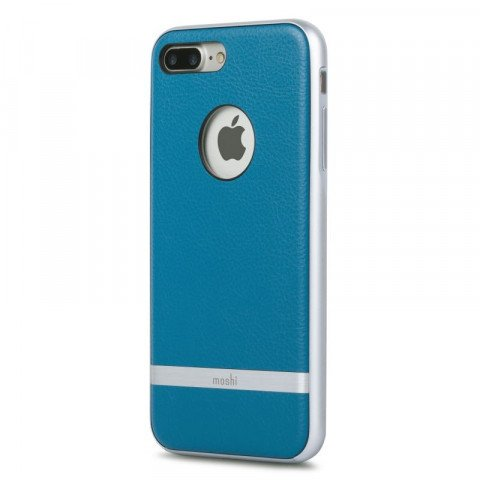 Moshi Napa Leather iPhone 8 / 7 Plus Marine Blue