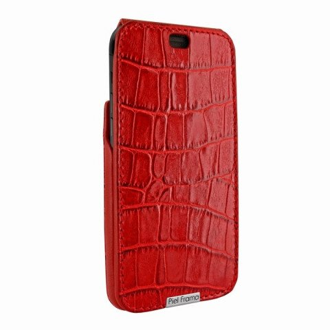 Piel Frama iPhone X iMagnum Croco Red