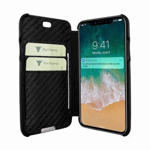 Piel Frama iPhone X Emporium Black