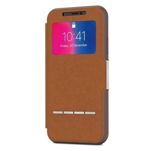 Moshi SenseCover iPhone X Caramel Brown
