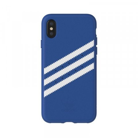 Adidas OR Moulded Case Suede iPhone X Blue