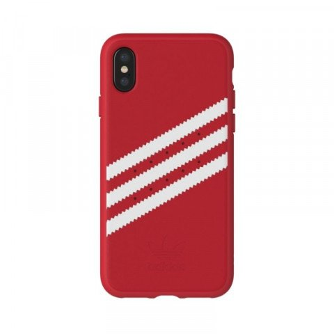 Adidas OR Moulded Case Suede iPhone X Scarlet