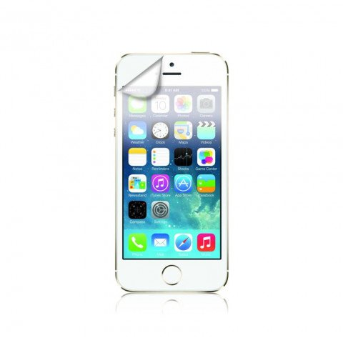 XQISIT Screen Protector AS 3pc for IPHONE 5/5s/5C/SE Transparant