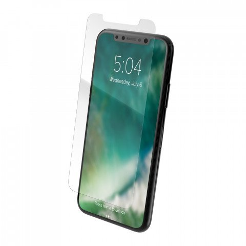 Xqisit Tough Screen Glass for iPhone X clear