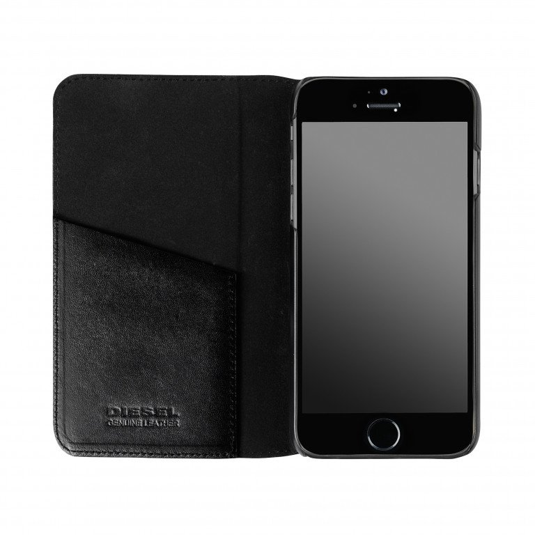 Diesel Booklet Case Indiano faded for iPhone 6/6s black