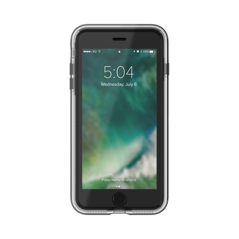 XQISIT PHANTOM XTREME for iPhone 7/8 Plus clear/anthracite