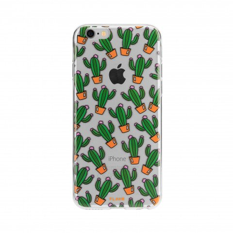 FLAVR iPlate Cactuses for iPhone 7/8 colourful