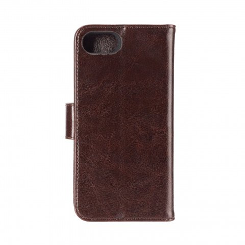 XQISIT Wallet Case Eman for iPhone 6/6S/7/8 brown