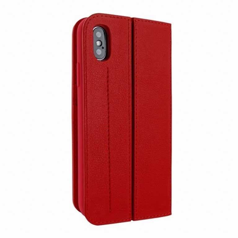 Piel Frama iPhone X FramaSlimCards Red