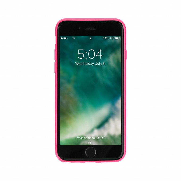FLAVR Odet for iPhone 6/6s clear/pink