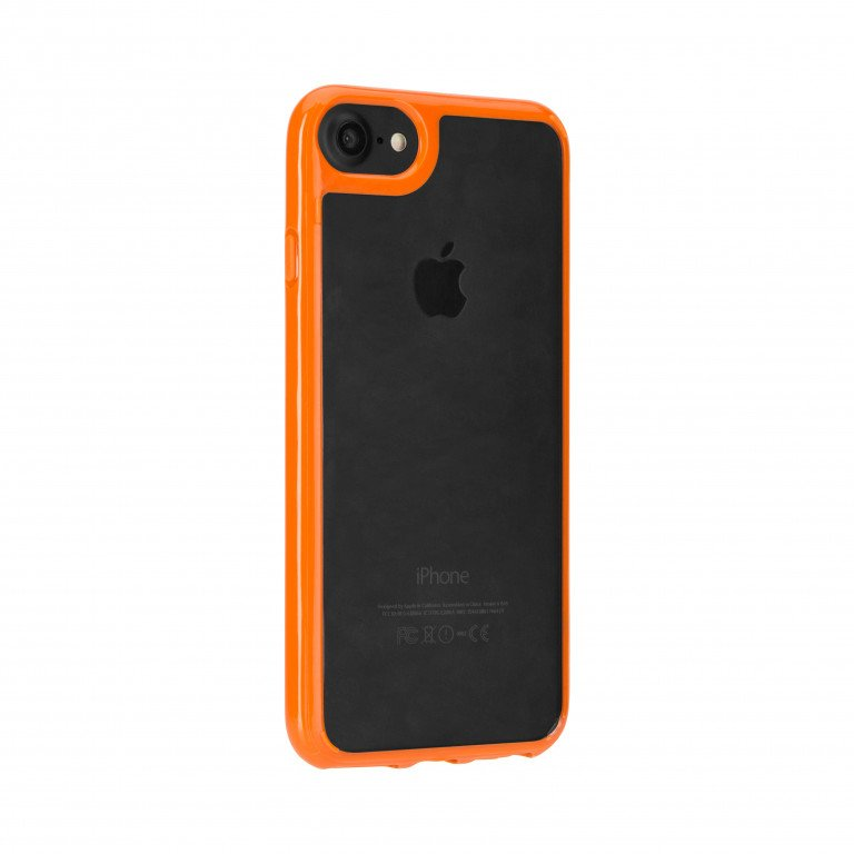 FLAVR Odet for iPhone 6/6s clear/orange