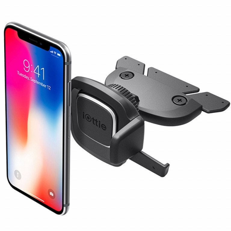 iOttie Easy One Touch 4 CD Slot Universal Car Mount Black