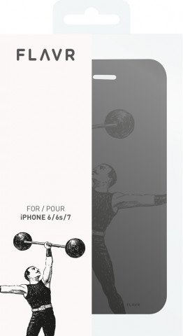 FLAVR Adour Case Weightlifter for iPhone 6/6S/7/8 colourful