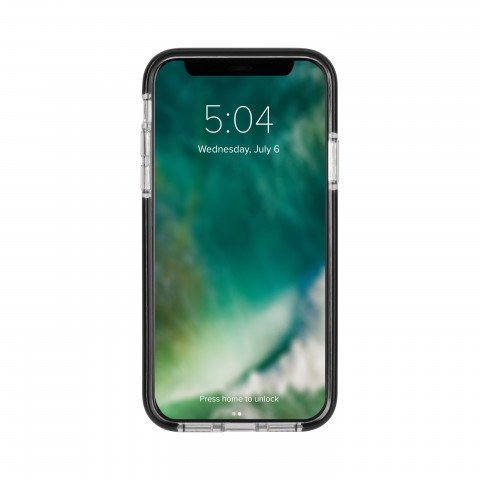 XQISIT Mitico Bumper TPU for iPhone X/Xs clear/black