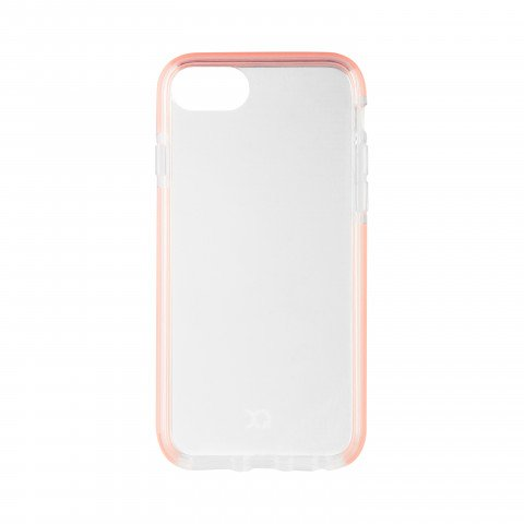 XQISIT Mitico Bumper TPU for iPhone 6/6S/7/8 clear/rose
