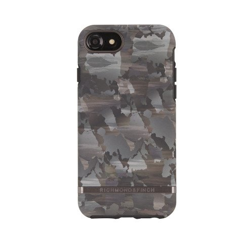 Richmond & Finch Camouflage black details for iPhone 6/6S/7/8 green