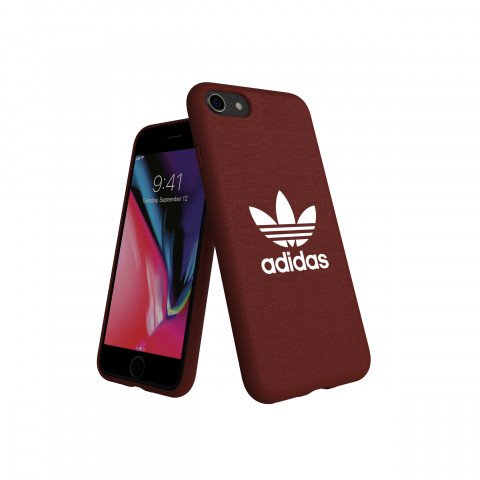 adidas OR Moulded Case CANVAS FW18 for iPhone 6/6S/7/8 maroon
