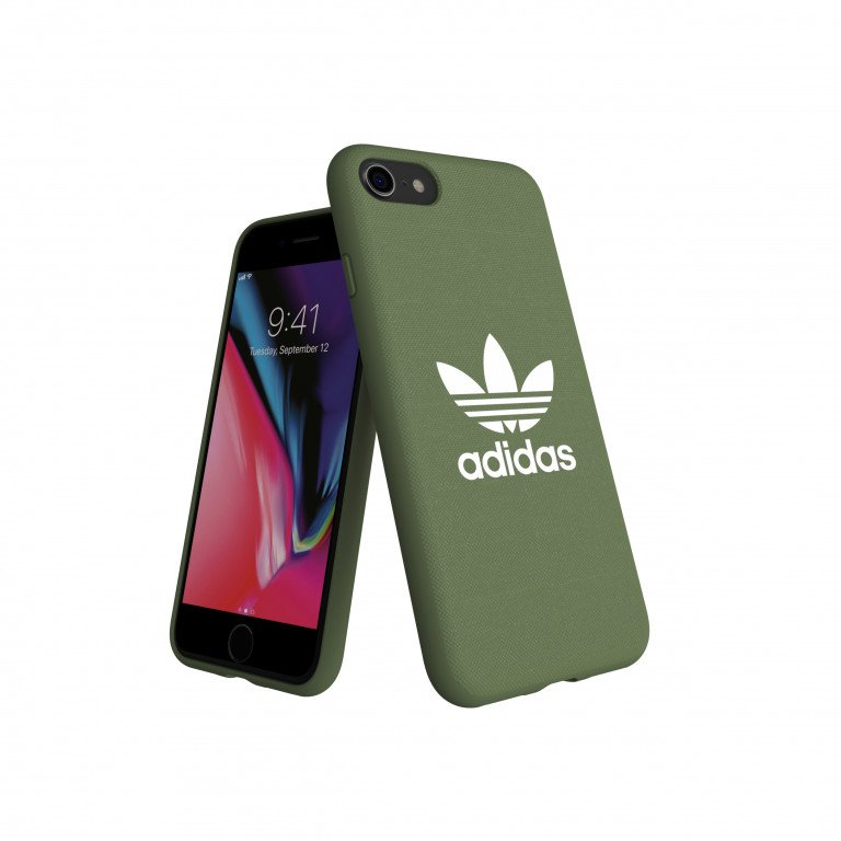 adidas OR Moulded Case CANVAS FW18 for iPhone 6/6S/7/8 trace green
