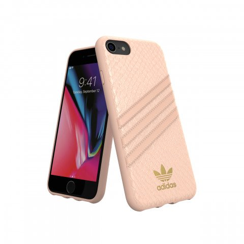 adidas OR Moulded Case PU SNAKE  FW18 for iPhone 6/6S/7/8 pink