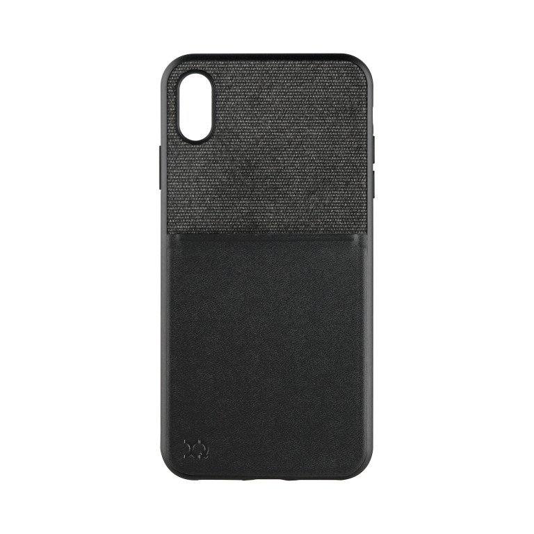 XQISIT Card Case for iPhone XS Max black