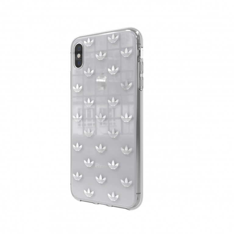 adidas OR Snap case ENTRY SS19 for iPhone XS Max silver colored
