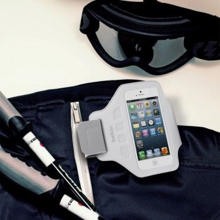 Belkin Ease-Fit Sport Armband iPhone 5/5S / SE White