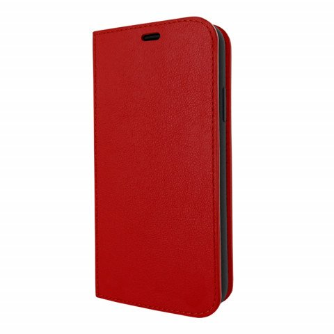 Piel Frama iPhone 11 Pro Max FramaSlimCards Red