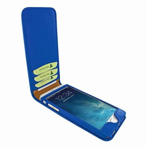 Piel Frama iPhone 6/6S Classic Magnetic Blue