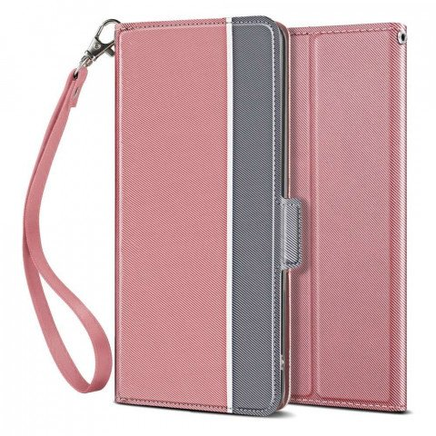 Just in Case Apple iPhone 11 Fashion TPU Wallet Case - Rose Gold