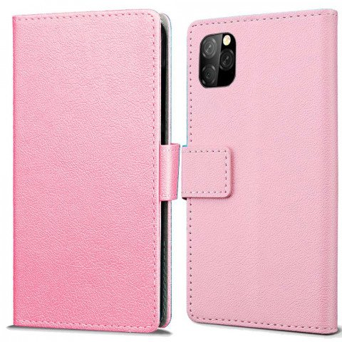 Just in Case Apple iPhone 11 Pro Wallet Case (Pink)