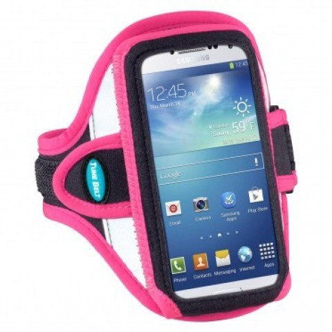 Tune Belt Arm Sportband Reflective Pink iPhone 5(S) / SE - AB87RP