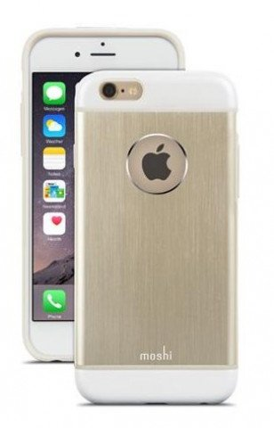 Moshi iGlaze Armour Metallic Case iPhone 6/6S Plus - Satin Gold