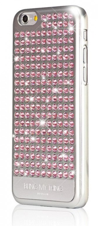 Bling My Thing - Extravaganza Pure Light Rose iPhone 6/6S Swarovski