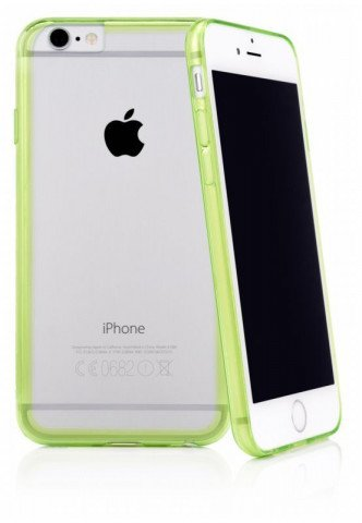 CASEual iPhone 6/6S Outline Green