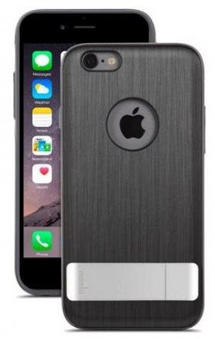 Moshi iGlaze Kameleon iPhone 6/6S Plus - Steel Black