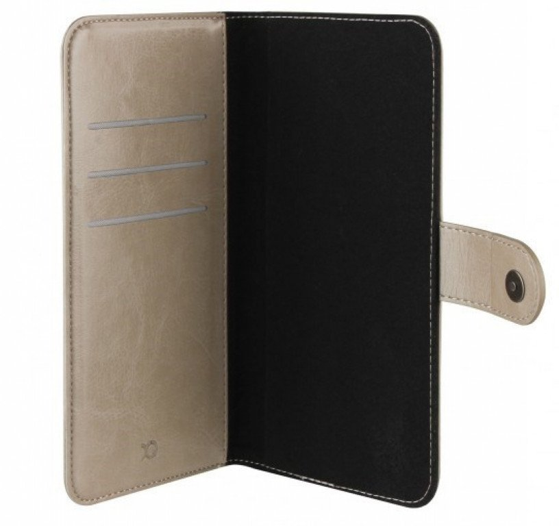 Xqisit Wallet Case Eman universeel XL Brown
