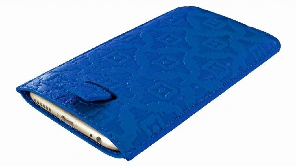 Piel Frama iPhone 7/6(S) Pull Style Blue