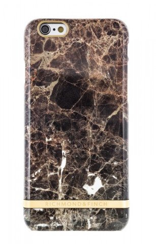 Richmond & Finch Marble Glossy iPhone 6/6S Brown