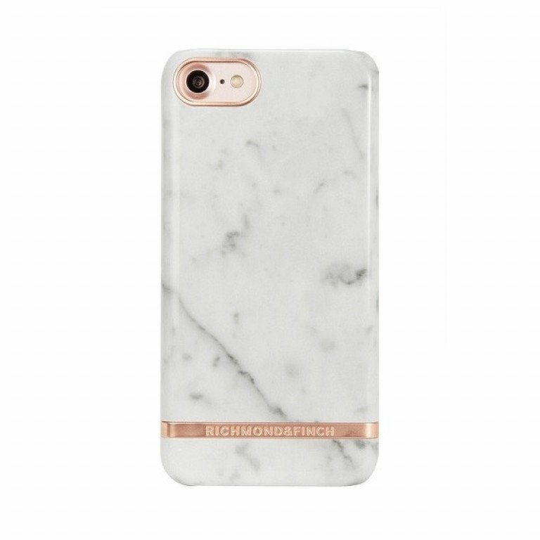 Richmond & Finch Marble Glossy iPhone 6/6S White