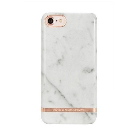 Richmond & Finch White Marble iPhone 8/7/6(S) Rose Gold